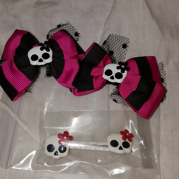 unknown Other - Hair accessories Monster High style hair clips